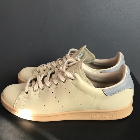 size 40 ee87b 673c0 Adidas Stan Smith 9.5 tan gum sole